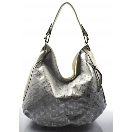 08f68f2bad sivá moderná kabelka cez rameno Abril