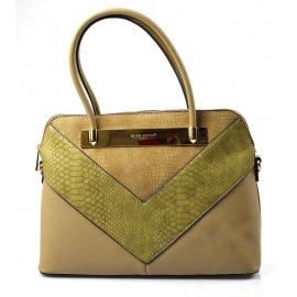 Elegantná hnedá kabelka do ruky Dalia 119acbb3acd
