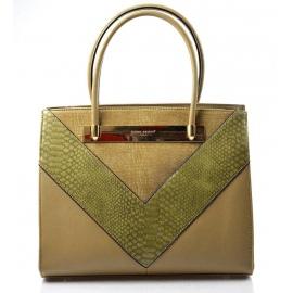 Elegantní hnedá kabelka do ruky Danesi