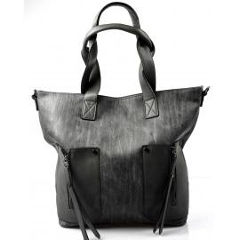 moderní šedá kabelka tali