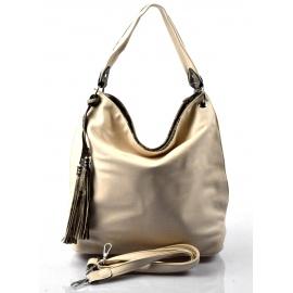 moderní béžová kabelka na rameno evo