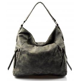 netradičná zelená kabelka Mona
