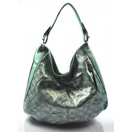 zelená moderná kabelka cez rameno Abril