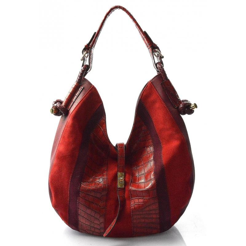 7e3659e39f červená bordó designová filcová kabelka chanel - KabelkyZoSvěta