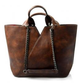 4fa6e29c1b krásna hnedá kabelka cez rameno jocelin