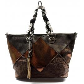 krásna hneda kabelka cez rameno charlize