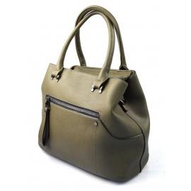 štýlová zelená kabelka cali two