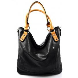 b340ec1d49 moderní černá shopper taška charlie two
