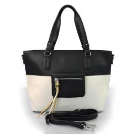 c90b2648b7 moderní italská kabelka s černou ally