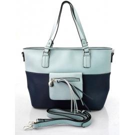 fe73953034 moderní italská kabelka s modrou ally
