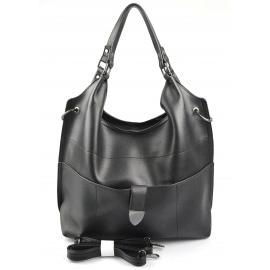 Veľká moderná čierna shopper taška Electra two