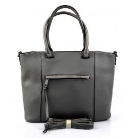 štýlová sivá kabelka cali three