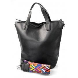7c500f8364 menší černá shopper taška jayden