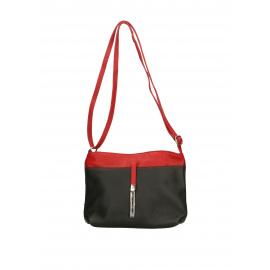 9ac489c528 Čierne kožené kabelky (6) - KabelkyZoSvěta