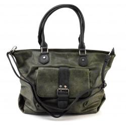 netradičná zelena kabelka na rameno kelly